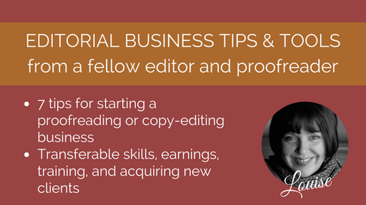 7 tips for starting a proofreading career