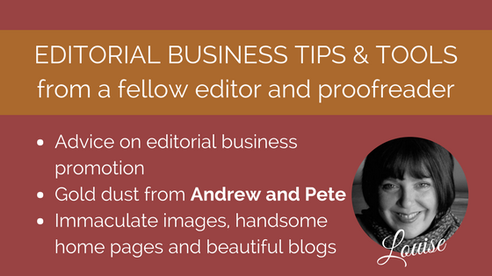 Editorial marketing tips from Andrew and Pete