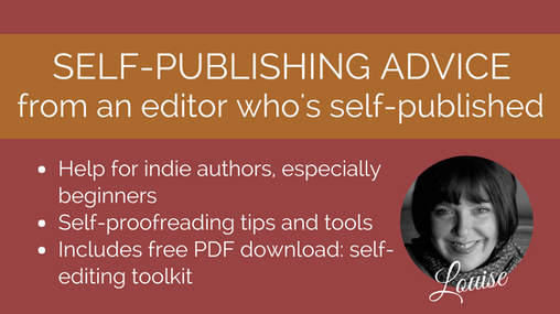 Self-proofreading toolkit for indie authors