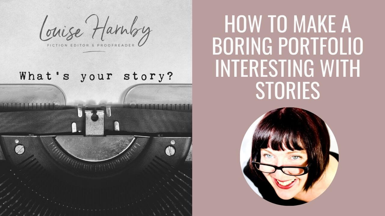 Using stories to make your editing portfolio stand out