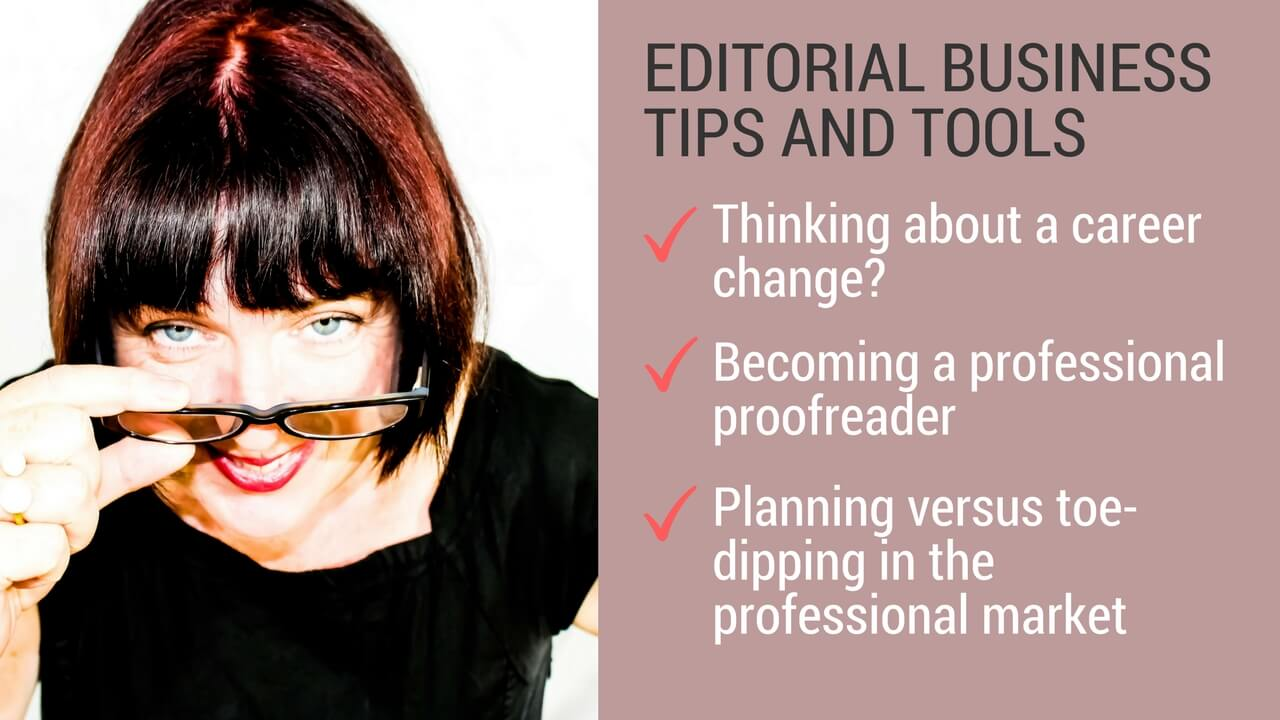 Advice for starting out in proofreading