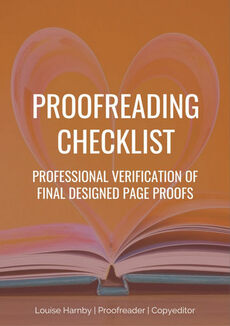 Free proofreading checklist
