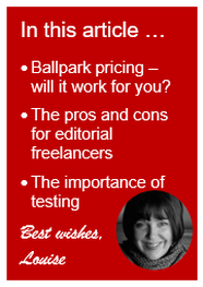 Ballpark pricing for editors and proofreaders