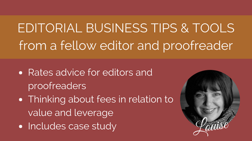Advice for new proofreaders and editors on what fees to accept