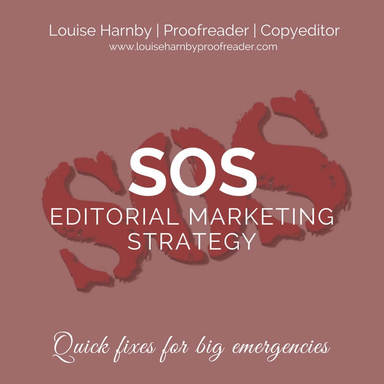 Harnby: SOS Editorial Marketing Strategy booklet