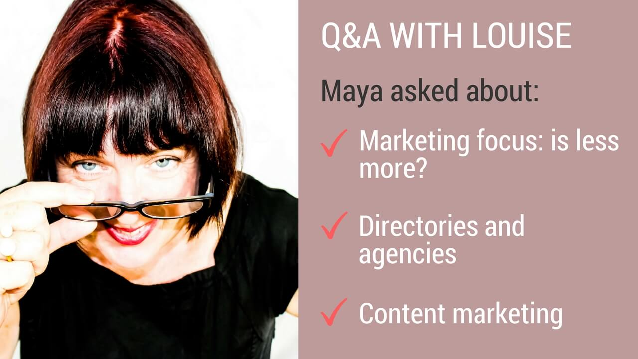 Marketing Q&A