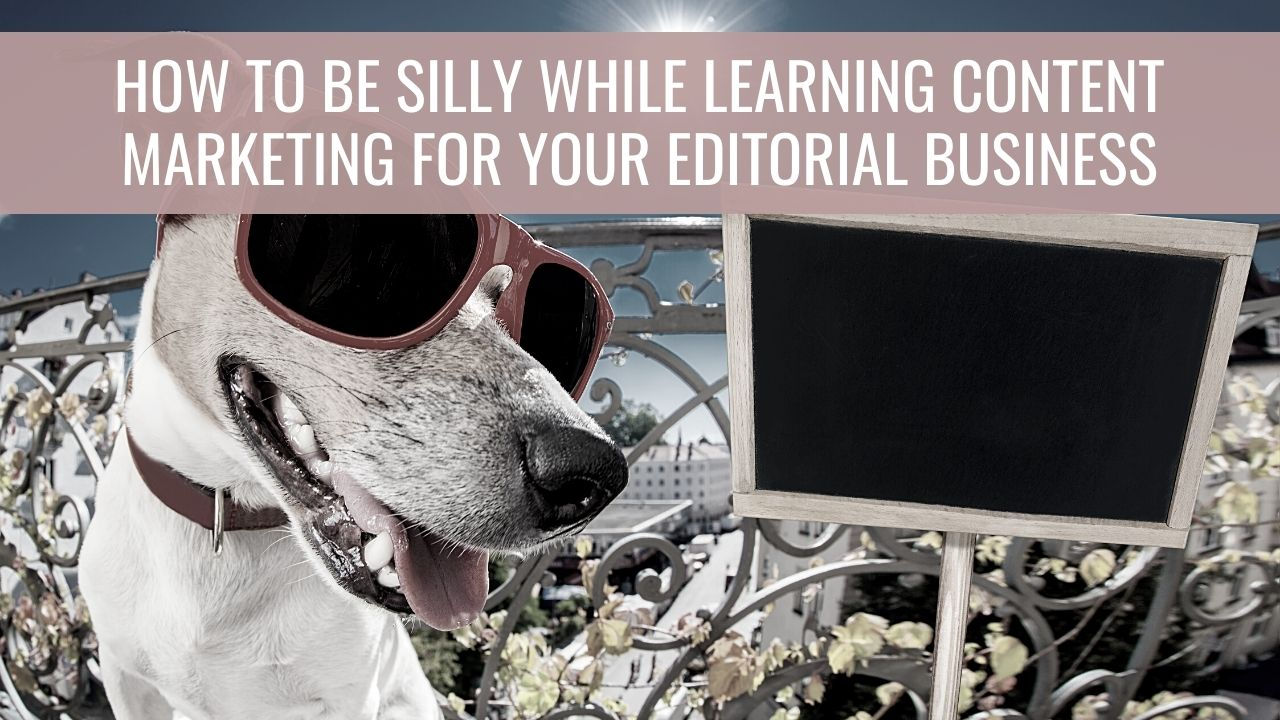 Content marketing and being silly
