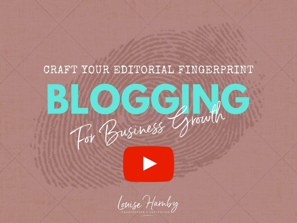 Blog the parlour louise harnby proofreader copyeditor the webinar takes you through the key steps to building a blooming blog that will drive visibility and offer compelling value to potential clients fandeluxe Image collections