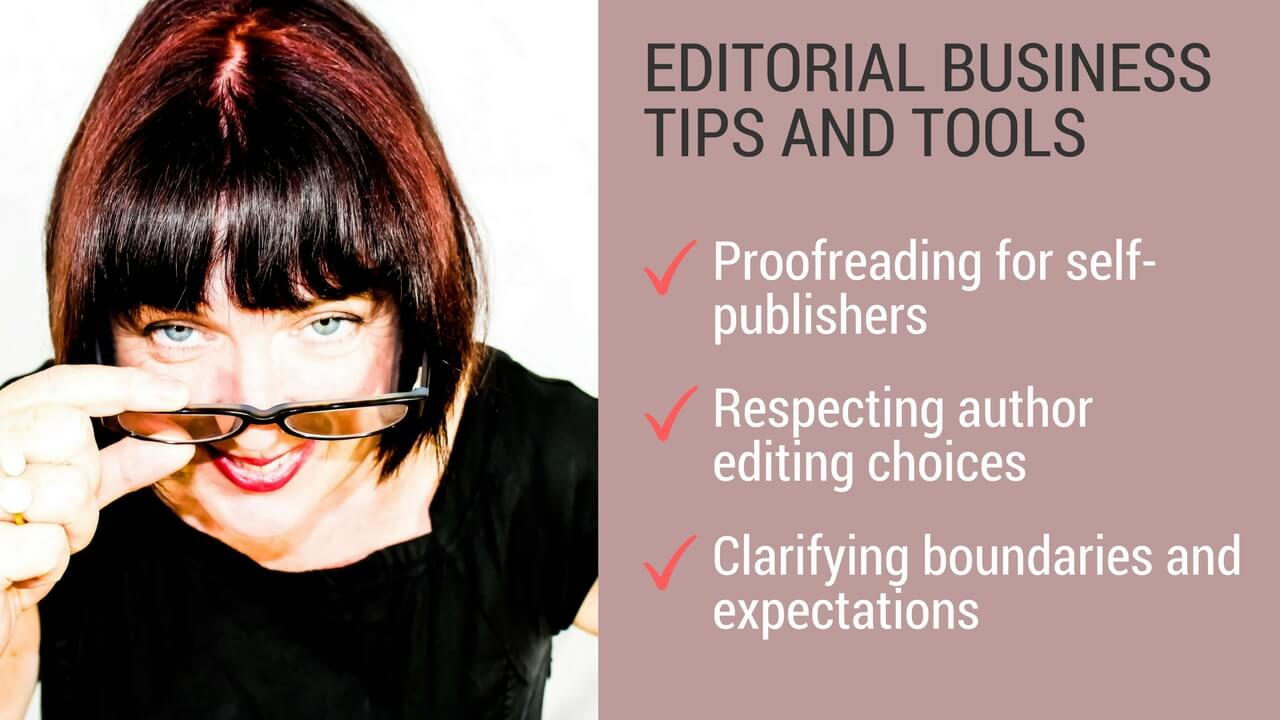 Proofreading for self-publishers