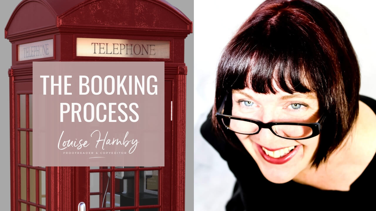 The booking process