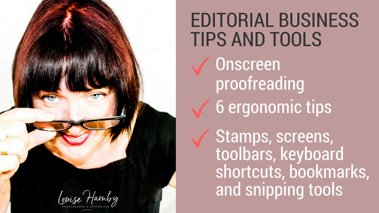 6 tips for ergonomic PDF proofreading