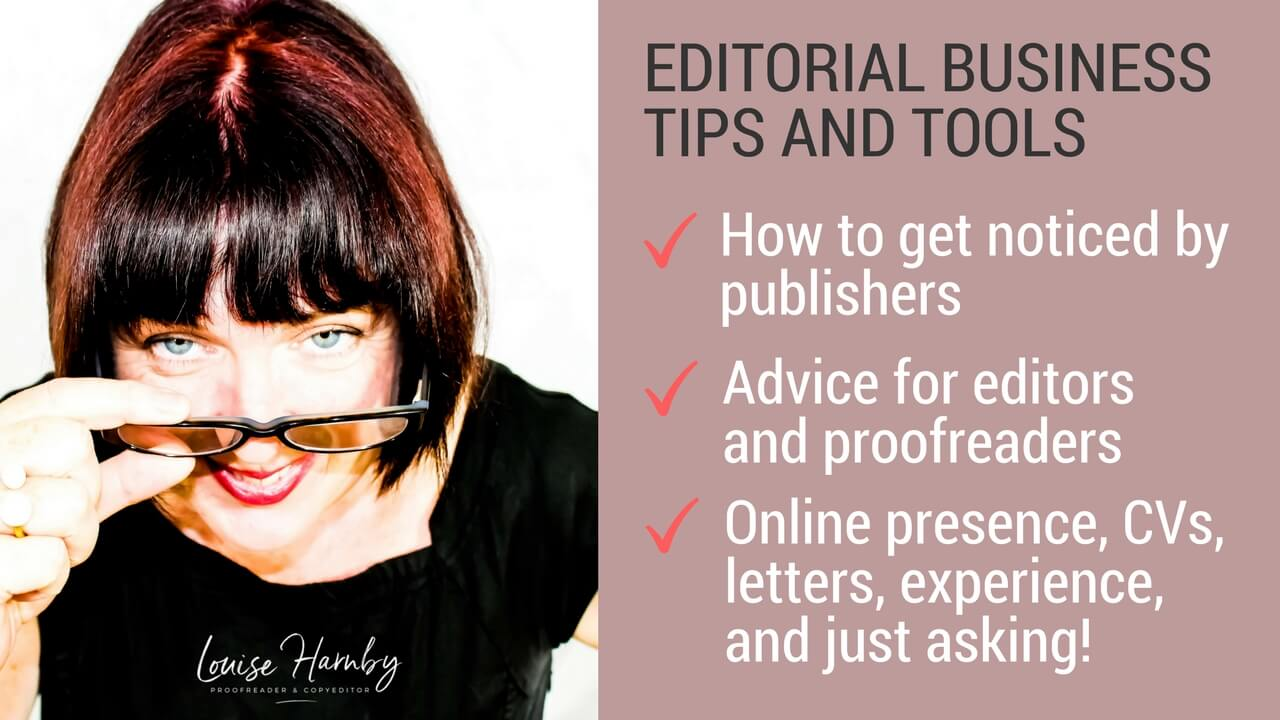 How to get noticed by publishers: Advice for new proofreaders and editors
